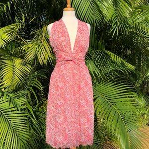 Diane Von Furstenberg halter dress new with tags